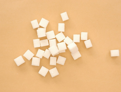 Refined table sugar