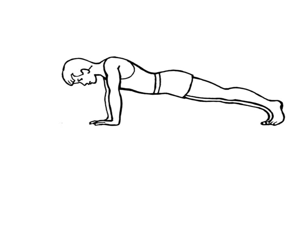 The Gallery For Gt Push Up Exercise Clip Art